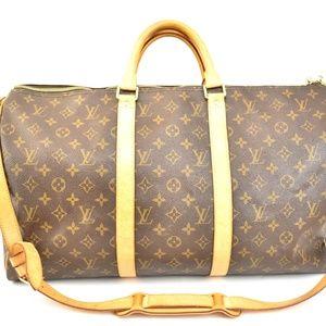 LOUIS VUITTON Keepall Bandouliere 50 Travel Bag mo